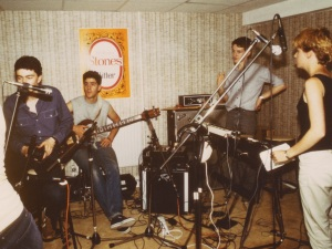 11th Hour recording the demo 1982