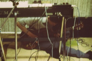 John plays guitar in Chance 11th Hour demo 1982